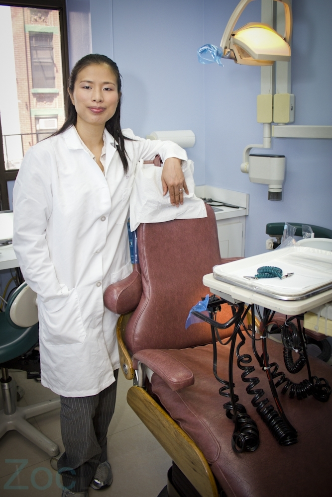Dr. Wen in her office